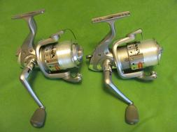 1) PAIR OF BERKLEY FUSION 206 SPINNING REELS SPOOLED WITH LI
