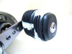 Reel Grip 1148 Reel Handle Cover, Black and White Tie Dye Fi