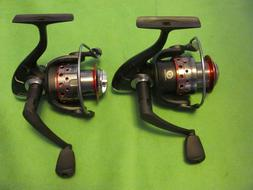2 SHAKESPEARE GX235 SPINNING REELS NEW OFF COMBO.