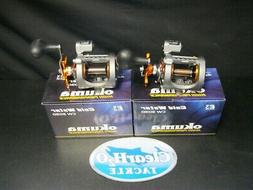 2 PACK OKUMA COLD WATER CW-303D LINE COUNTER LEVEL WIND STAR
