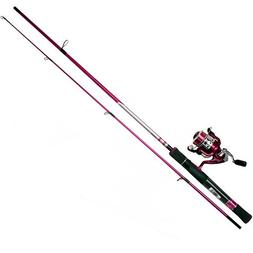 Zebco 30SPL/ZALS602ML Lady Fishing Rod and Reel Combo
