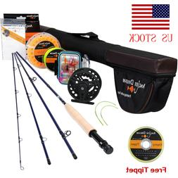 Fly Fishing Rod Combo 9FT 8WT Fly Fishing Line Fly Reel Fly