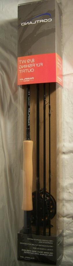 8/9 5/6 WT FLY ROD FISHING  ROD AND COMPOSITE REEL COMBO COR