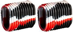 Reel Grips - Red, White and Black