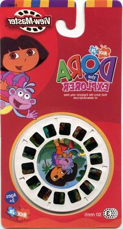 ViewMaster- Dora the Explorer - 3 Reels on Card - NEW
