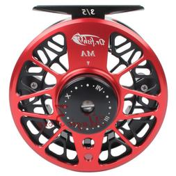 Adjustable Drag Fly Fishing Reel machined Aluminum Stainless