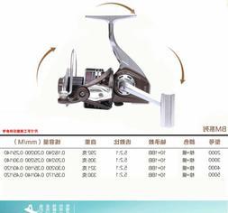 All metal MegaTron Saltwater Spinning Reels Fishing Reels Ov