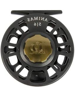 NEW ROSS ANIMAS 4/5 FLY REEL STEALTH BLACK USA MADE -IN STOC