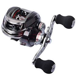 Goture Baitcasting Fishing Reel with 13+1 Shielded Bearing L