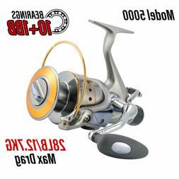 Yoshikawa Fishing Baitfeeder Spinning Reel 5000 5.5:1 11 Hig
