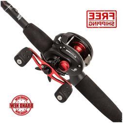 Abu Garcia Black Max Low Profile Baitcast Reel and Fishing R