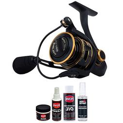 clash spinning fishing reel maintenance
