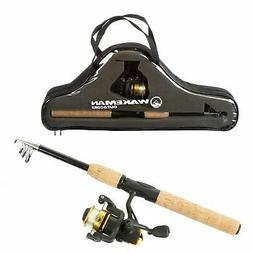Compact Telescopic Rod Reel Combo Carry Case Left Right Hand