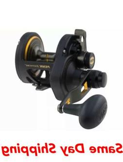 fathom lever drag conventional 2 speed reel