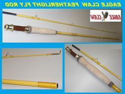 Eagle Claw, Featherlight Fly Rod, Freshwater, 8' Length 2pc,