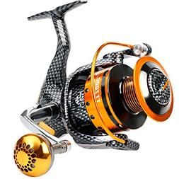 Burning Shark Fishing Reels- 12+1 BB, Light and Smooth Spinn