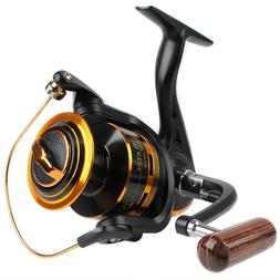 Fishing Spinning Reel 10BB 5.1:1 Al Spool Ultra Light Ice Hi