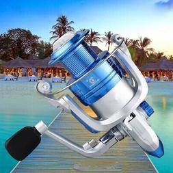 Spinning Fishing Reel YD500-YD6000 12BB Folding Metal Spool