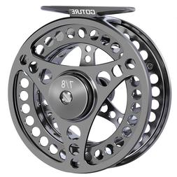Goture Fly Fishing Reel 5/6/7/8/9/10 CNC Machined Large Arbo