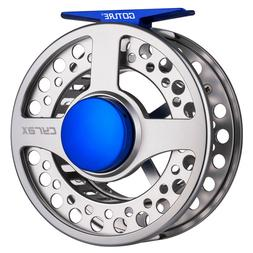 Goture Fly Fishing Reel Large Arbor CNC-machined Fly Reel Tr