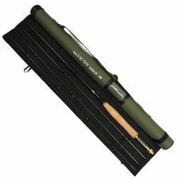 3//5//8WT Fly Fishing Combo 9FT Fly Rod with Reel Kit Black Fly Reel Rod Tube