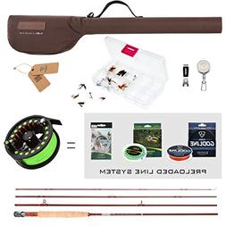 FISHINGSIR Fly Fishing Rod and Reel Combo: Fly Fishing Rod,