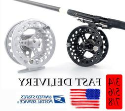Fly Reel 3/4 5/6 7/8 WT CNC Machined Large Arbor Aluminum Fl