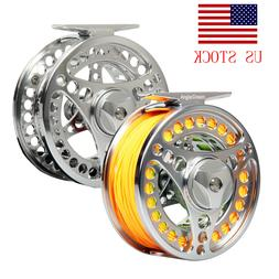 Fly Reel with Line Combo 3/4 5/6 7/8 9/10WT CNC Machined Fly