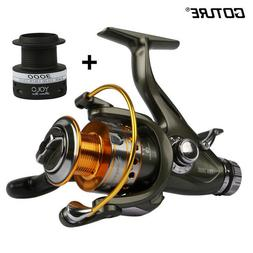Goture Front and Rear Drag System Spinning Fishing Reel 5.1: