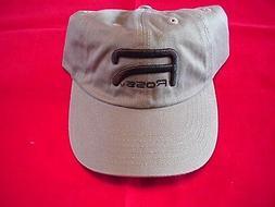 Ross Reels Hat Olive Raised Logo Caps GREAT NEW