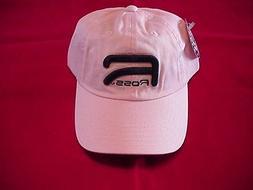 Ross Reels Hat Pink Raised Logo Caps GREAT NEW