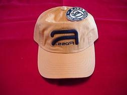 Ross Reels Hat Yellow Raised Logo Caps GREAT NEW