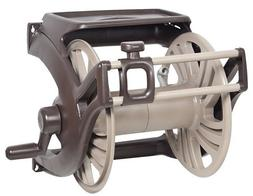 Hose Reel Wall Mount with Never Leak Aluminum Manual Guide a