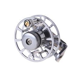 Ice Fishing Reel Full Metal Fly Spinning Line Raft Wheel Ice
