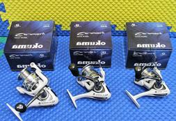 Okuma Inspira ISX Spinning Reels White Color CHOOSE YOUR MOD