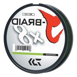 Daiwa J-Braid Chartreuse Filler Spool - 150m 30
