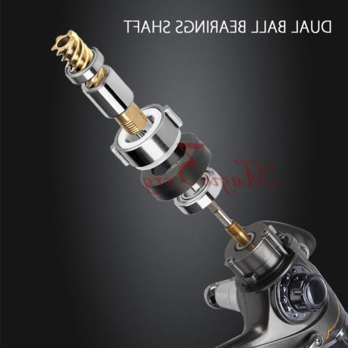 10+1BB Fishing Reels Baitfeeder Casting Bass