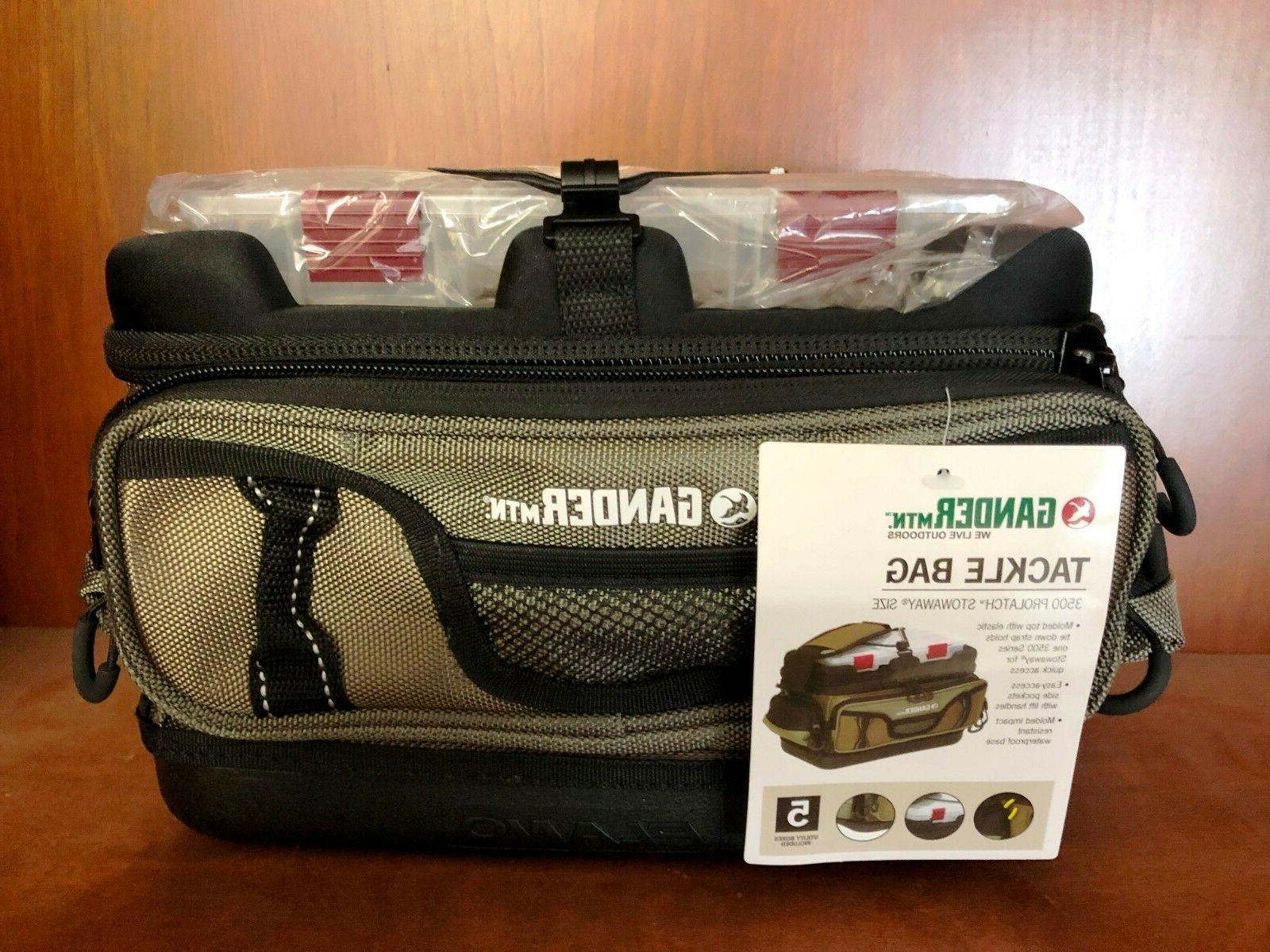 8921 PLANO Gander Mountain Guide Series Tackle Bag 3500 Prolatch Stowaway Size