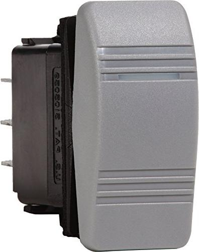 Blue Sea Systems Contura OFF-ON SPST Switch, Grey