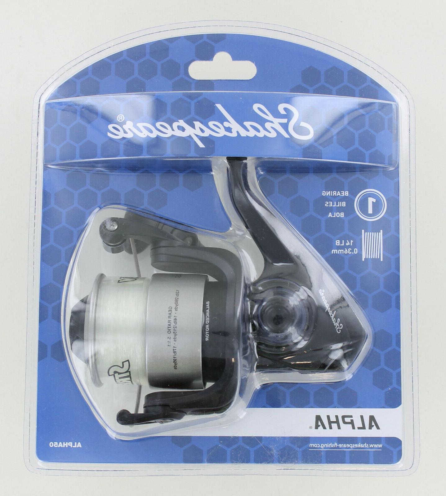 alpha 50rl 15 spinning reel