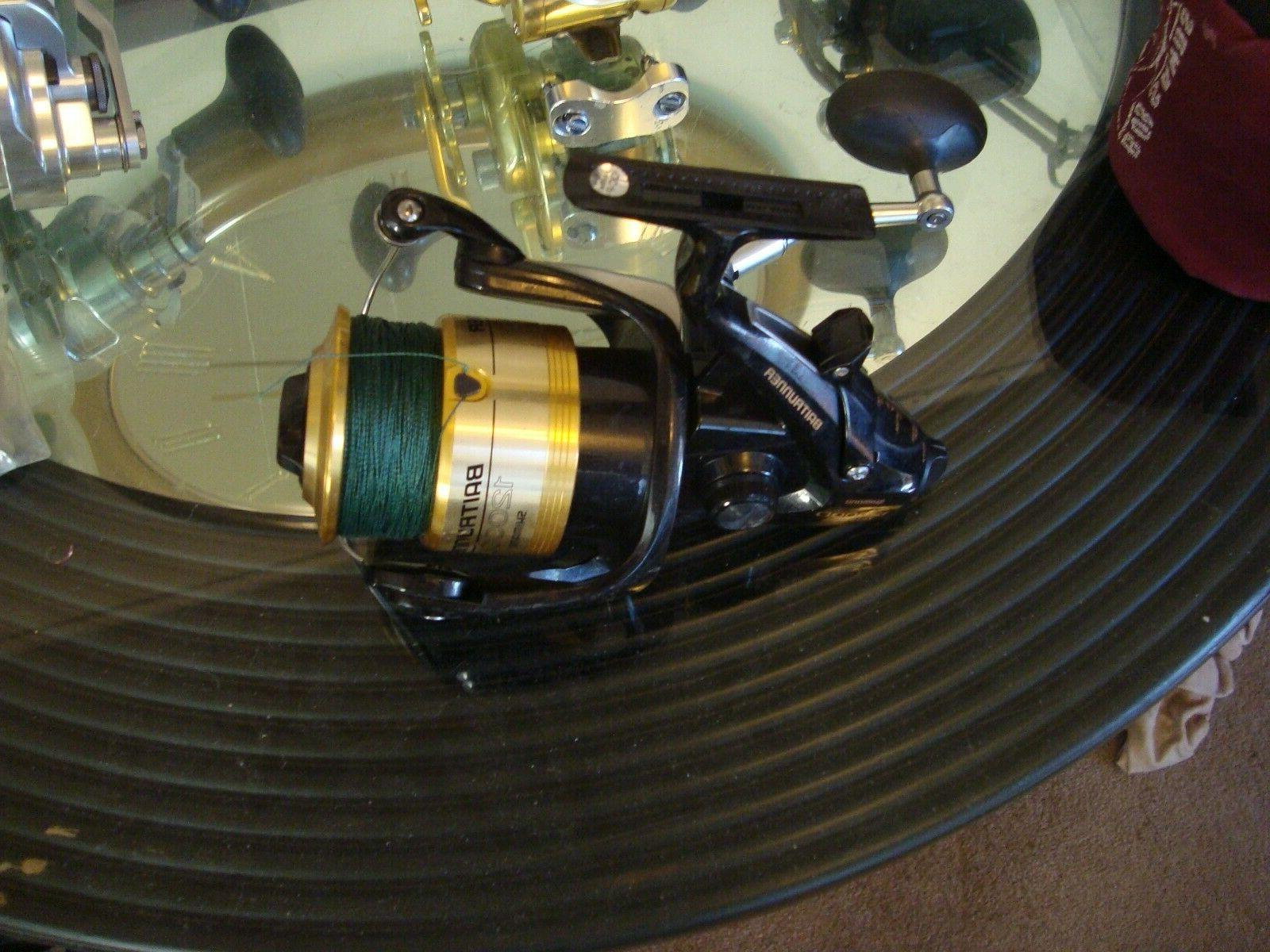 baitrunner 12000d saltwater spinning reel