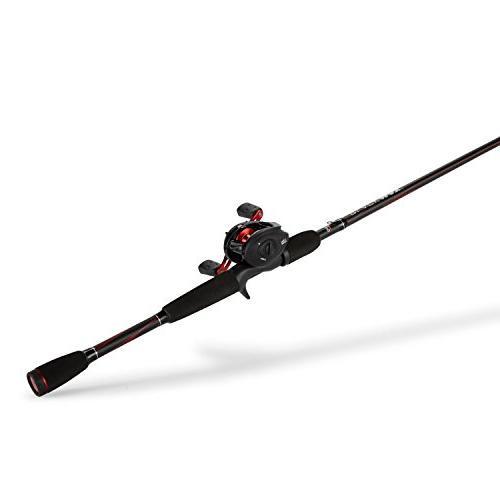 Abu Max Fishing Baitcast Reel Combo, 6.5 Feet, Medium