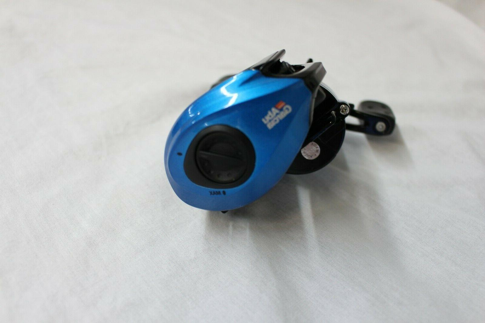 ABU GARCIA BLUE LOW RIGHT-HANDED REEL-