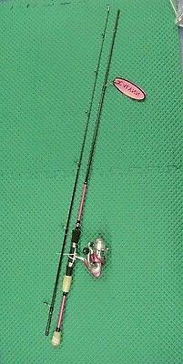 Okuma Calynn 7' Medium Light Pink Spinning Rod & Reel Combo