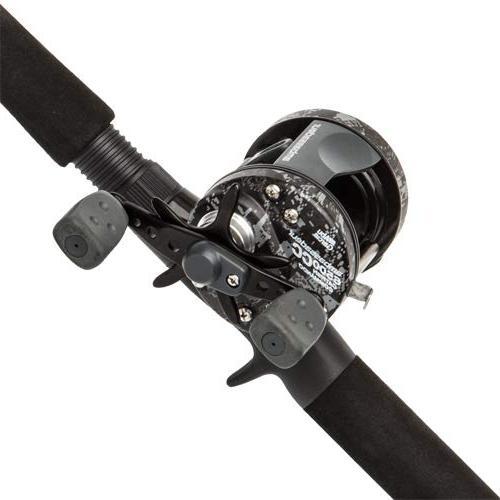 Medium He.. Abu Garcia Catfish Commando Fishing Rod and Reel Combo New 7 Feet