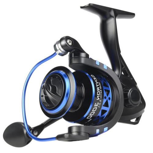 centron spinning fishing reel for freshwater fishing