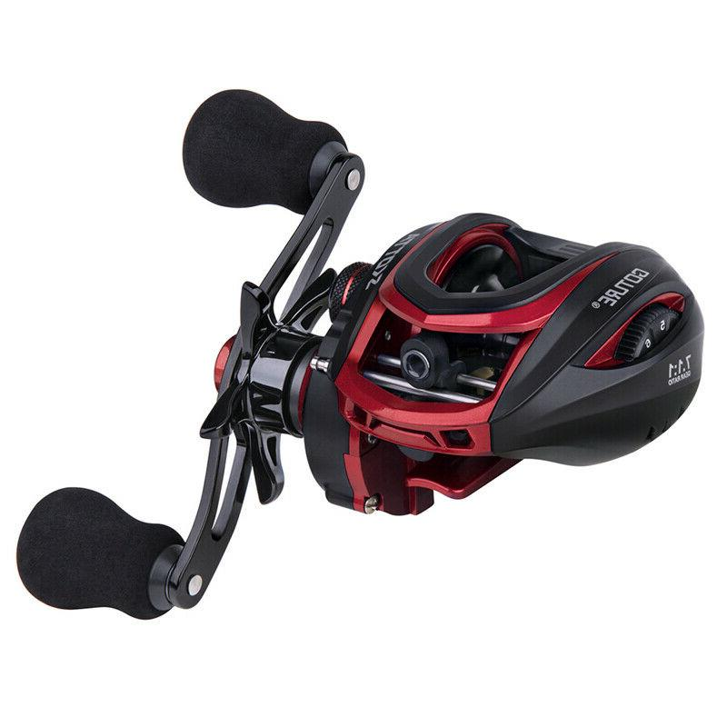 Goture Baitcasting Reel 7.1:1 Magnetic Centrifugal Drag Syst