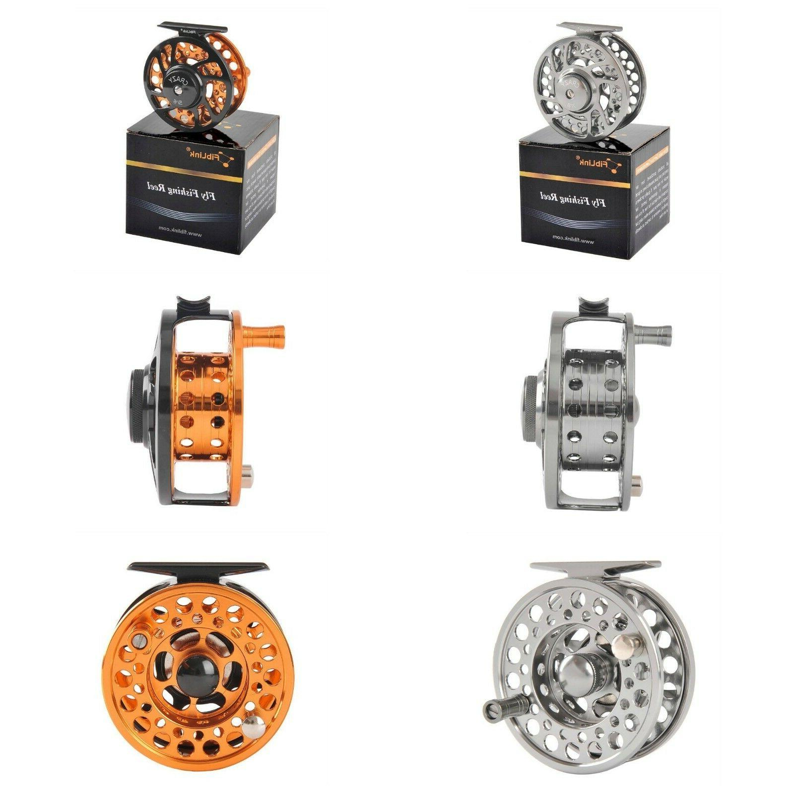 Fly Fishing Reels With Large Arbor Aluminum Alloy Body And S