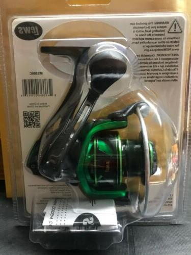 Lew's Speed Spinning Reel MS300C New!!!