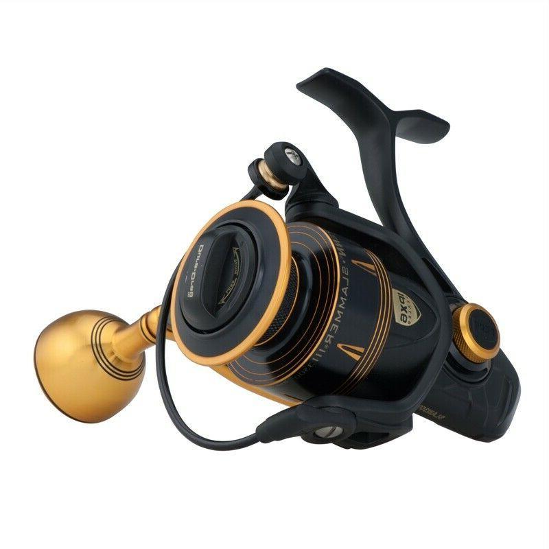 Penn New Slammer III MK3 Fixed Spool Spin Spinning Fishing R
